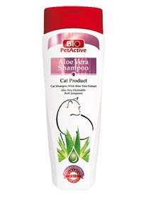 Pet Active Natural Aloe Vera Özlü Kedi Şampuanı 400 ml