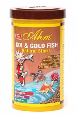 Balık Yemi Koi Goldfish Natural Sticks 1000 Ml