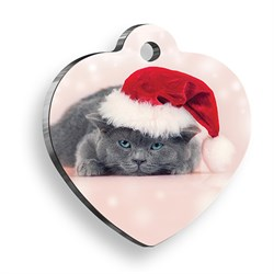 Pet Tag Art Scottish Noel Kalp Kedi Künyesi